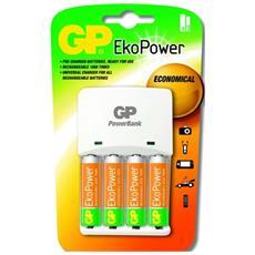 Gp Batteries Chargeur Gp Pb410+ 2aa 1300mah Recyko +