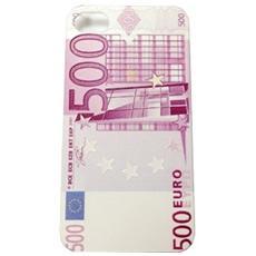 Cover Custodia Iphone4/4s Design Rilievo Money