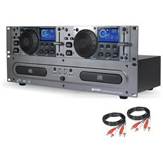 Cdx-2250i Cd Dual Mp3 / Cd Audio / Usb + Cavi