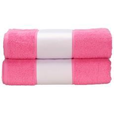 Telo Da Bagno Con Fascia Personalizzabile (taglia Unica) (rosa)