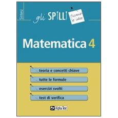 Matematica. Vol. 4