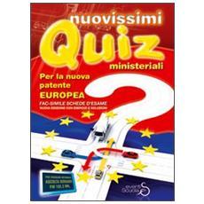 Nuovissimi quiz ministeriali per la nuova patente europea