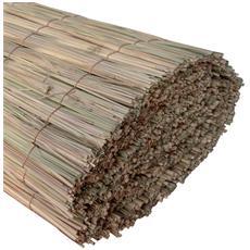 Arella ombreggiante in canne pulite di falasco 100 x 300 cm