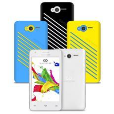 "Quantum 400 Plus Bianco 4 GB Dual Sim Display 4"" Slot Micro SD Fotocamera 5 Mpx Android Italia"