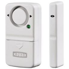Allarme con sensore magnetico Xavax per porta / finestra, bianco