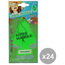 Set 24 Deodorante Menta Glaciale Accessori Auto E Moto