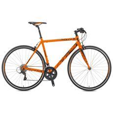 Bici Ibrida Ktm Strada 800 Speed 18v Sora Arancio Opaco Nero
