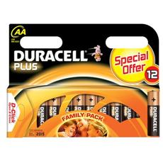 conf. 12 Pile alcal. Duracell Plusstilo MN1500B12 394990340