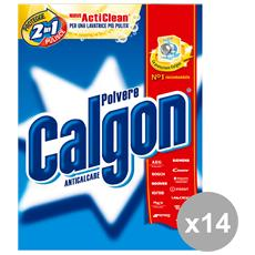 Set 14 Anticalcare Polvere 850 Gr. Detergenti Casa
