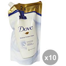 Set 10 Sapone Liquido Sacco 500 Ml. Ricarica Saponi E Cosmetici