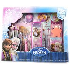 stationery set xxl 'frozen - ' viola (19 parti) - [ m3047]