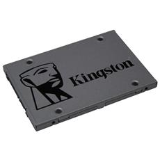 "SSD 480GB Serie UV500 2.5"" Interfaccia Serial ATA III"