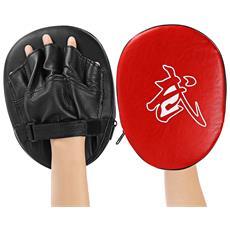 1 Pz Focus Boxing Punch Mitts Training Pad Per Mma Karate Muay Thai Kick