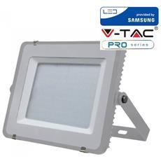 Faretti Led 150w Ip65 Samsung Slimline Grigio Luce Naturale 4000k V Tac Vt-150 482