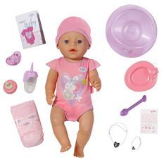 Interactive, Ragazza, Rosa, Femmina, Certificato di nascita della bambola, Gioielli per bambola, Ciuccio, Feeding bottle, Doll hat, Plate