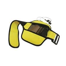 Custodia Braccio Mp3 / Mp4 Waterproof Armband - Giallo