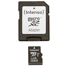 MicroSDXC da 128GB Premium Class 10 UHS-I