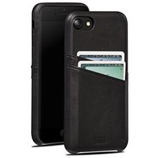 Cases iPhone 7 Snap On Wallet nero