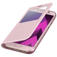 S View Standing Cover per Galaxy A5 2017 - Rosa