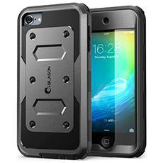 Apple Ipod Touch 6 / 5 Generation Custodia, I-blason Armorbox Ibrida. Custodia Protettiva Di Tutto Il Corpo, Con La Copertura Anteriore E (built-in) Protezione Integrata Dello Schermo / Resistente Agli Impatti Paraurti