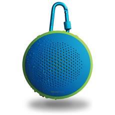 Altoparlante Portatile Fusion Bluetooth Colore Blu / Verde