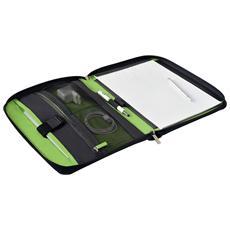 """Smart Traveller 10"""" Custodia a tasca Nero, Verde"""