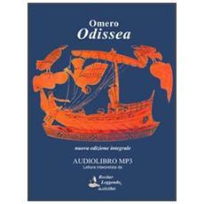 Odissea. Audiolibro. CD Audio formato MP3. Ediz. integrale