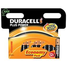 conf. 12 Ministilo Duracell Plus 12 AAA 1.5 V MN2400B12