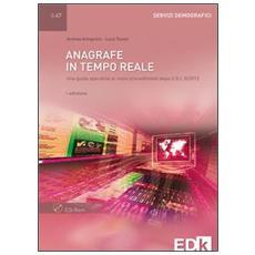 Anagrafe in tempo reale. Con CD-ROM