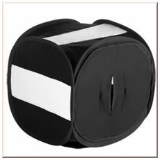 Pop-Up Light Cube 40x40x40cm Nero