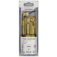 Auricolare in ear stereo Thomson EAR3005GD, microfono, oro
