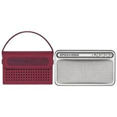 WEARiT TS217 - Cassa amplificata Bluetooth con Borsetta color Purple