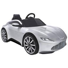 Auto elettrica Aston Martin 6V con luci e suoni