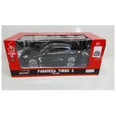 Porsche - Panamera Turbo S - Radiotelecomandata - Nera - Scala 1:16