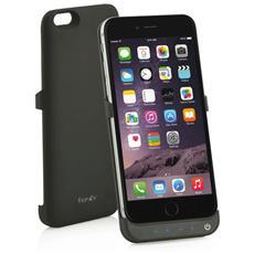 Power Skin Cover con Batteria Incorporata 3500 mAh per iPhone 6 Plus / 6S Plus Colore Nero RICONDIZIONATO