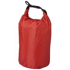 The Survivor Sacca Sportiva Impermeabile (35,5 X 17,5 Cm) (rosso)