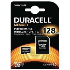 DRMK128PE, MicroSD, Nero, UHS-I, Class 10, SD