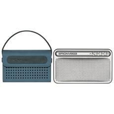 WEARiT TS217 - Cassa amplificata Bluetooth con Borsetta color Blue