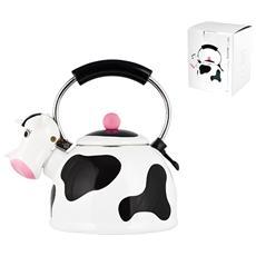 Bollitore Smalto Cow Lt2,5 Pentole E Preparazione