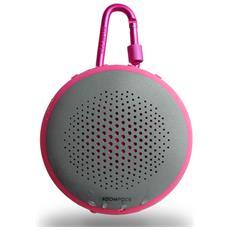 Altoparlante Portatile Fusion Bluetooth Colore Rosa / Grigio