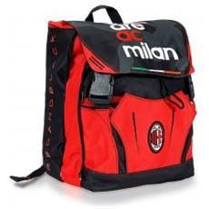 Zaino Estensibile Milan Unica Rosso Nero