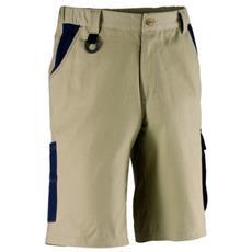 Pantalone Corto Tenere' M Beige / blu Kapriol.