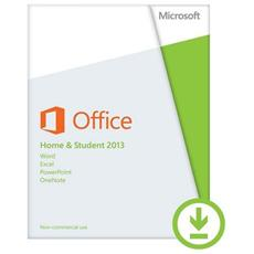 Office 2013 Home & Student 32/64 Bit Esd Licenza Elettronica