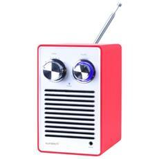 RPR1160 Personale Analogico Rosso, Bianco radio