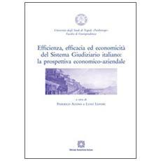 Efficienza, efficacia ed economicità del sistema giudiziario italiano. La prospettiva economico-aziendale