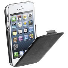 Custodia Flap Slim per iPhone 5 - Nero