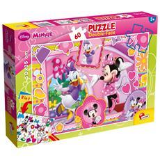 Minnie E Paperina - Puzzle Double-Face Plus 60 Pz