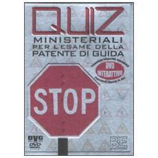 Quiz ministeriali per l'esame della patente di guida. DVD