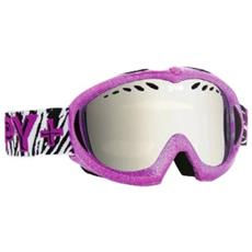 Maschera Snowboard Donna Targa Mini Rosa Taglia Unica