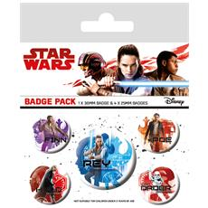 Star Wars: The Last Jedi - Icons (pin Badge Pack)